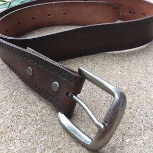 Levi's Embossed Leather Belt